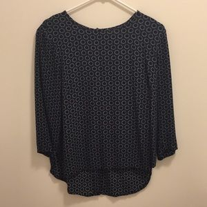 H&M Blouse 3/4 Inch Sleeves